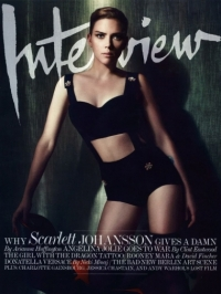 Scarlett Johansson Covers 'Interview' December 2011