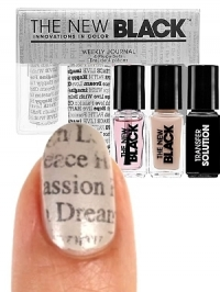 Newsprint Nail Art Set by Sephora