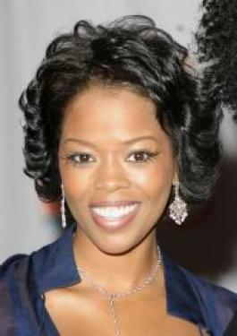 Pictures Malinda Williams Malinda Williams With Short Curly Hairstyle