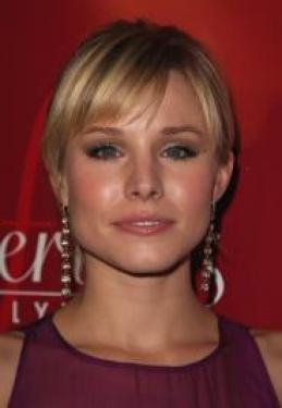 Pictures Kristen Bell Hairstyles Kristen Bell S Updo With Bangs