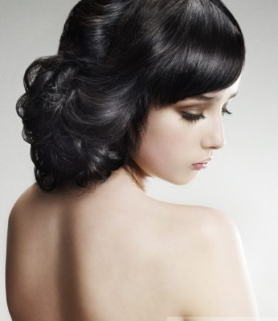Chic Loose Updo Hair