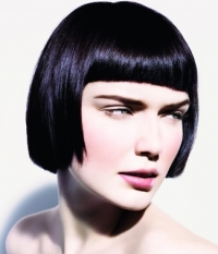 Chic Short Bangs Hair Styles