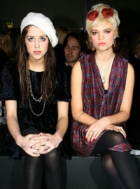 Pixie and Peaches Geldof Hairstyles