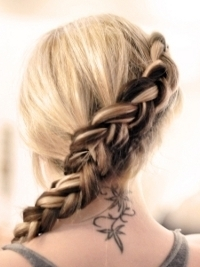 How to Style The Hunger Games French Braid