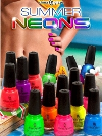 China Glaze Summer Neons 2012 Collection