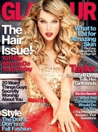 Taylor Swift Covers Glamour November 2012 Issue