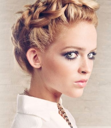 Gorgeous Romantic Braided Hairstyle