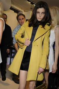 Fall/Winter 2010 Yellow Color Trend