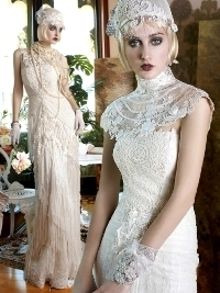 YolanCris Mademoiselle Vintage Bridal Collection 2013