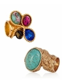 Yves Saint Laurent Summer 2012 Rings