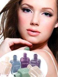Zoya True and Fleck Effect Spring 2012 Nail Polish Collections