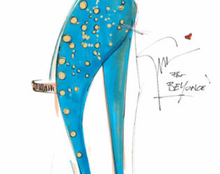 Beyonce Stage Shoes By Giuseppe Zanotti