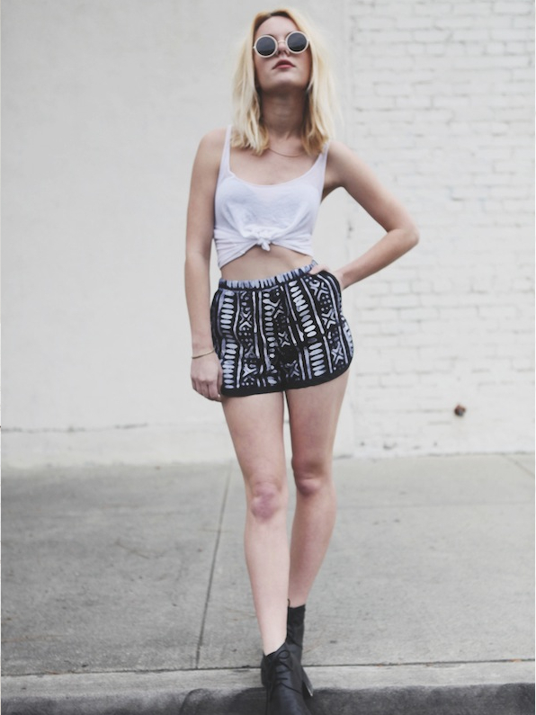 Della X Urban Outfitters Runner Shorts