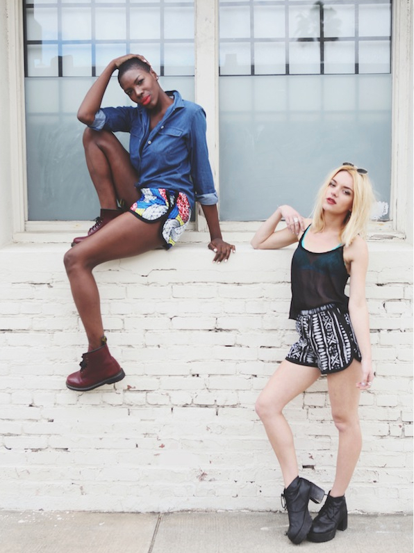 Della X Urban Outfitters Woven Runner Shorts