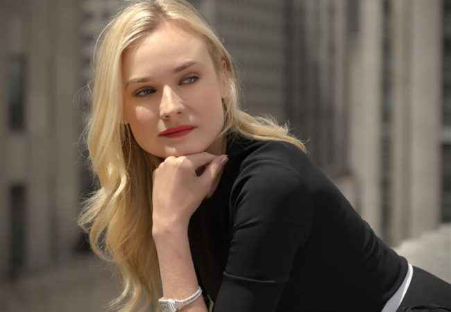 Diane Kruger for Jaeger-LeCoultre's 'Reinvent Yourself' Campaign