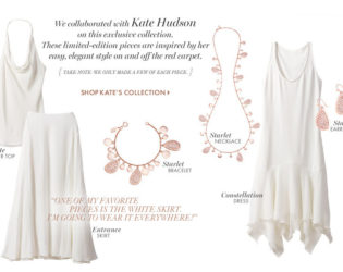 Kate Hudson For Ann Taylor Summer 2013 Exclusive Collection (1)