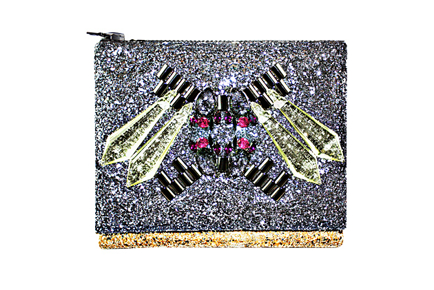 Mawi Glitter Clutches for Fall 2013