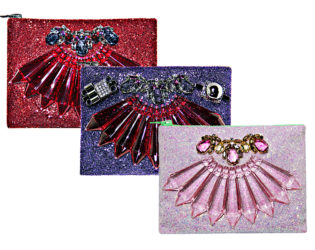 Mawi Glitter Bug Clutches