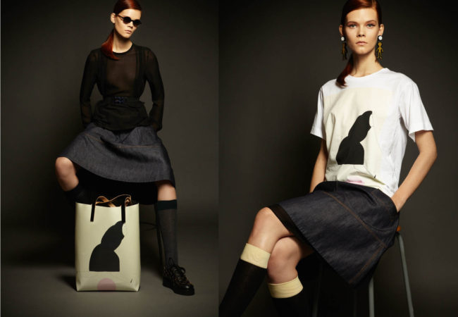 Romina Quiros for Marni Fall/Winter 2013 Collection