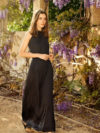 Massimo Dutti Black Maxi Dress