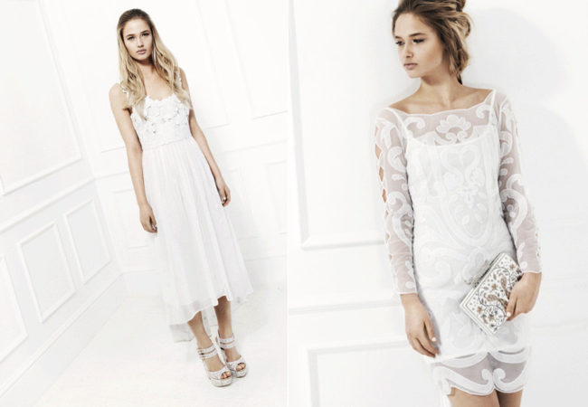 Miss Selfridge Designed By: White Collection
