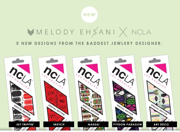 Ncla  Melody Ehsani New Nail Wraps 2013 (7)