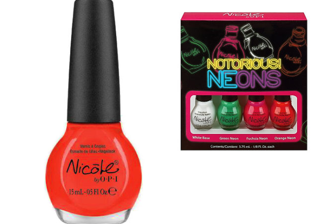 Nicole by OPI Neon Kits 2013