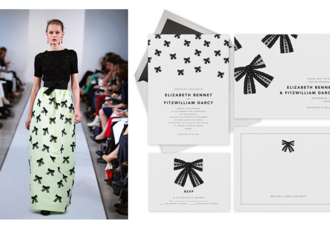 Oscar de la Renta Designs a Stationery Collection for Paperless Post