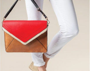 Parfois Colorblock Shoulder Bag