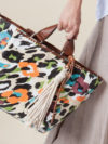 Parfois Printed Canvas Tote