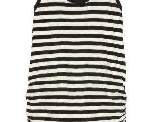 Proenza Schouler Striped Mini Dress