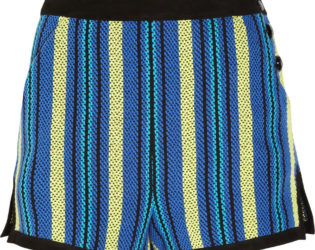 Proenza Schouler Striped Tweed Shorts