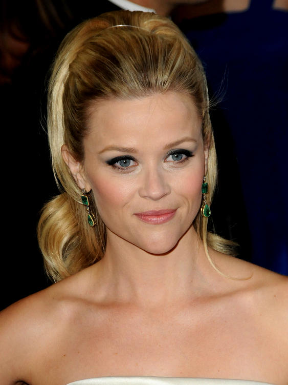Reese Witherspoon Big Ponytail Hairstyle