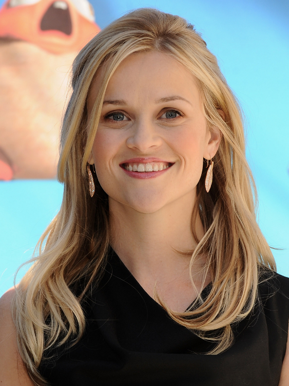 Reese Witherspoon Half Up Half Down Hair