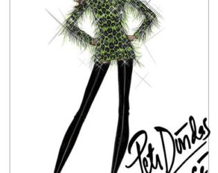 Beyonce Stage Costumes Sketches2