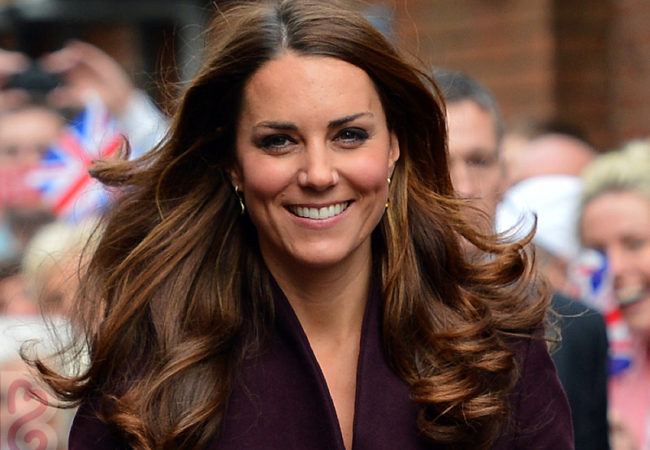 Kate Middleton Named Britain's Hair Icon