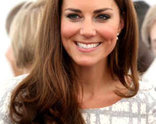 Kate Middleton Loose End Curls