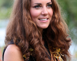 Kate Middleton Natural Hair Texture