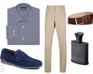 Mens Cruise Wear Nighttime