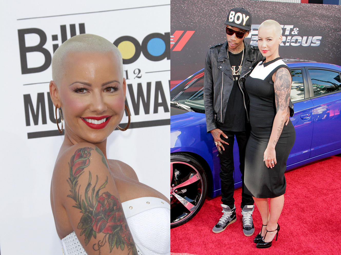 Amber Rose Hairstyle 2013
