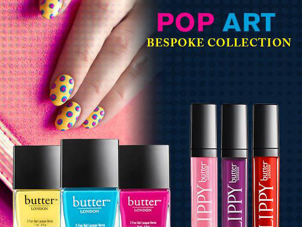 butter LONDON The Pop Art Collection