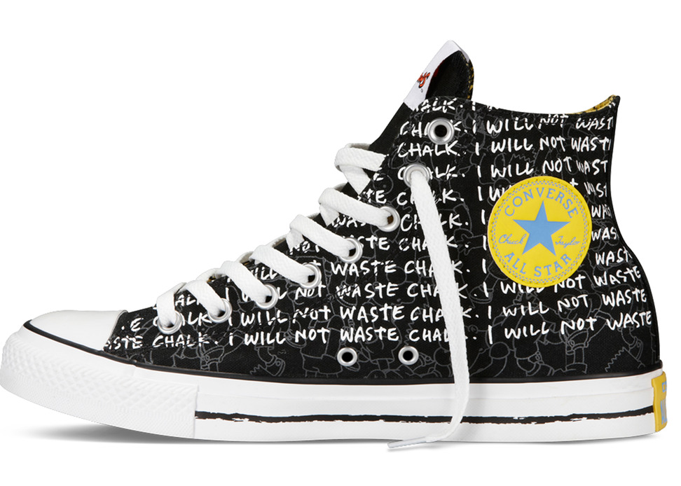 Converse The Simpsons Sneakers Bart