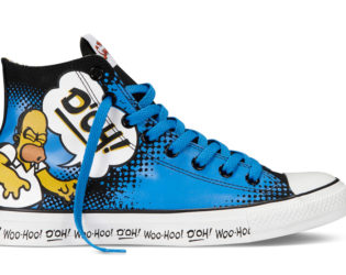 Converse The Simpsons Sneakers Homer Print