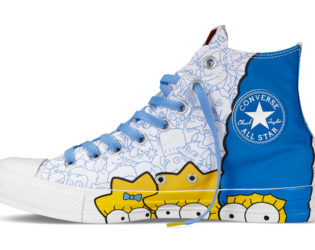 Converse The Simpsons Sneakers White