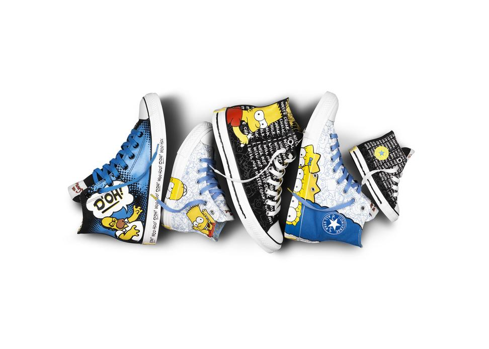 Converse And The Simpsons Sneakers