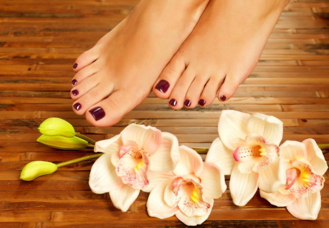 How to Do a Dry Pedicure