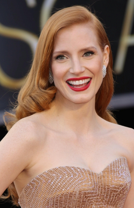 Famous Redhead Actresses  Jessica Chastain
