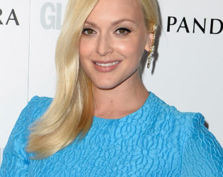 Fearne Cotton Loose Side Swept Hair From The Glamour Women Of The Year Awards 2013