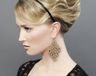 Headbangs Hairstyle For Growing Out Bangs By Sharon Blain