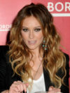 Hilary Duff Ombre Hair Color